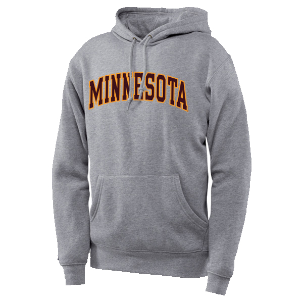 Minnesota text Hoodie Sweatshirt