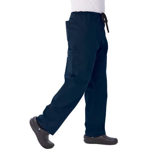 d0ac84d4899 Unisex Simply Soft Cargo Scrub Pants Navy Blue | University of ...