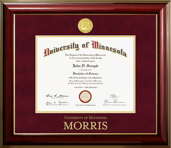 Diploma Frames | University of Minnesota Bookstores