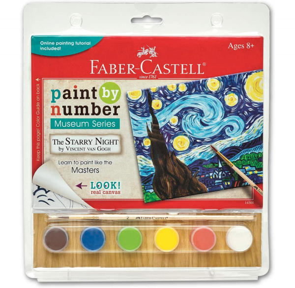 fabercastell starry night paintnumbers kit