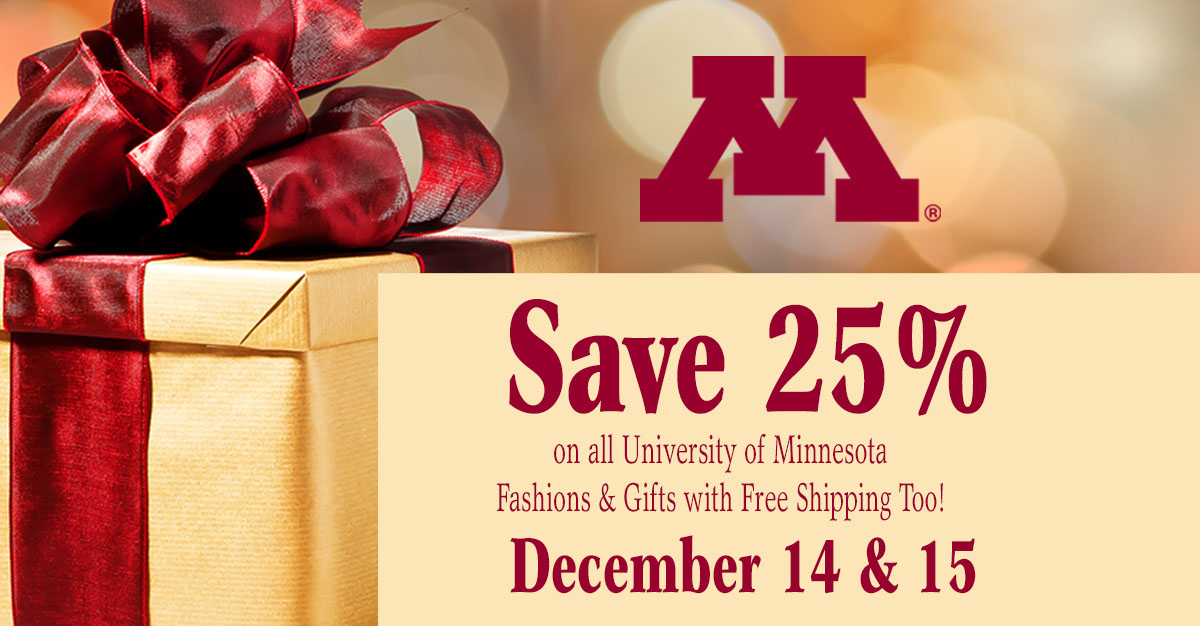 save 25% on all apparel and gifts and get free standard shipping too!
