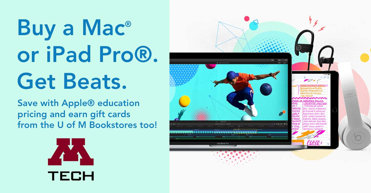 buy a mac for back to school and earn gift cards