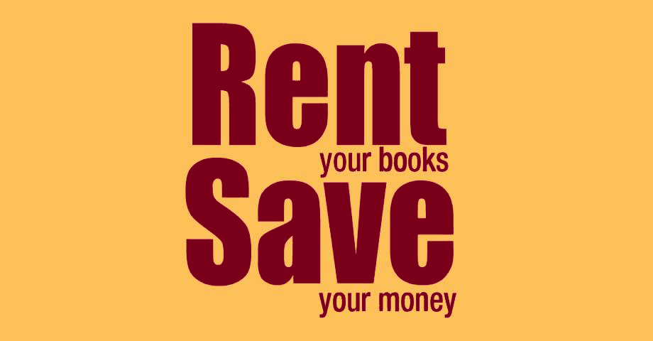 Save on our rental textbooks