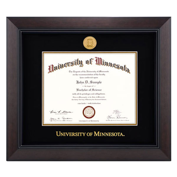 diploma frames university of minnesota bookstores