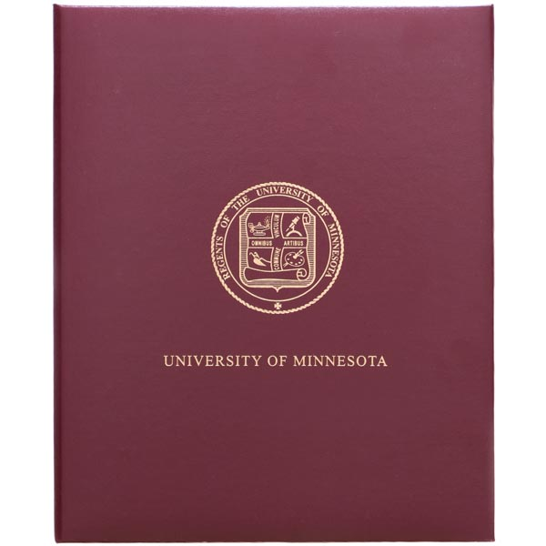 Diploma & Certificate Covers | University of Minnesota Bookstores