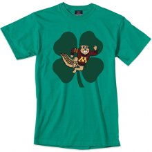 University of Minnesota Goldy Shamrock T-Shirt 3f8354da2