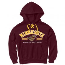 MV Sport Minnesota Golden Gophers Laces Hoodie 8d0980b3a