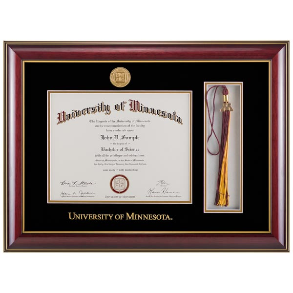 Diploma Frames | University of Minnesota Bookstores